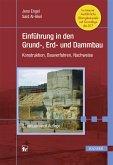 Einführung in den Grund-, Erd- und Dammbau (eBook, PDF)
