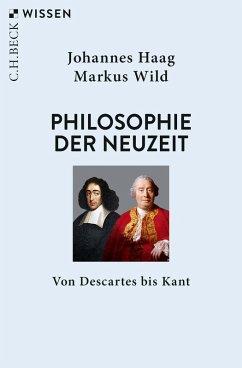 Philosophie der Neuzeit (eBook, ePUB) - Haag, Johannes; Wild, Markus