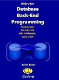Dogrudan Database Back-End Programming (eBook, ePUB)