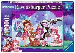 Ravensburger 10945 - Enchantimals Vereinte Freunde, Puzzle, Kinderpuzzle, 100 Teile XXL
