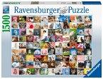 Ravensburger 16235 - 99 Katzen, Puzzle, 1500 Teile