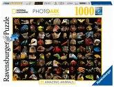 Ravensburger 15983 - 99 atemberaubende Tiere, Puzzle, 1000 Teile