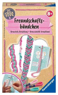 Ravensburger 18061 - Be Creative, Freundschaftsbänder, Hand
