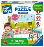 Ravensburger 04559 - ministeps, Mein allerestes Puzzle, Jahreszeiten, 4 Puzzle
