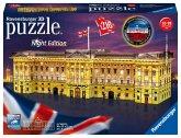 Ravensburger 12529 - Buckingham Palace bei Nacht, Night Edition, 3D Puzzle, 216 Teile