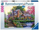 Ravensburger 15184 - Romantisches Cottage, Puzzle, 1000 Teile
