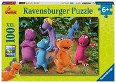 Ravensburger 10407 - Der kleine Drache Kokosnuss, Puzzle, Kinderpuzzle, 100 Teile XXL