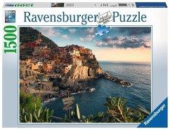 Ravensburger 16227 - Blick auf Cinque Terre, Puzzle, 1500 Teile