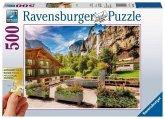 Ravensburger 13712 - Lauterbrunnen, Puzzle, 500 Teile