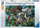 Ravensburger 14826 - Koalas im Baum, Puzzle, 500 Teile