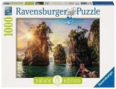 Ravensburger 13968 - Three Rocks in Cheow, Thailand, Puzzle, 1000Teile