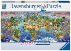 Ravensburger 16698 - Wunder der Welt, Puzzle, 2000 Teile