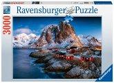 Ravensburger 17081 - Hamnoy, Lofoten, Puzzle, 3000 Teile