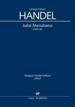 Judas Maccabaeus (Klavierauszug) - Händel, Georg Friedrich