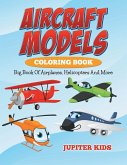 Aircraft Models Coloring Book