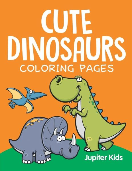 Cute Dinosaurs (Coloring Pages)