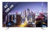 TCL 43DP640 109 cm (43 Zoll) Fernseher (4K / Ultra HD)