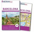 MERIAN live! Reiseführer Barcelona (Mängelexemplar)