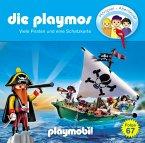 Viele Piraten und eine Schatzkarte / Die Playmos Bd.67 (1 Audio-CD)