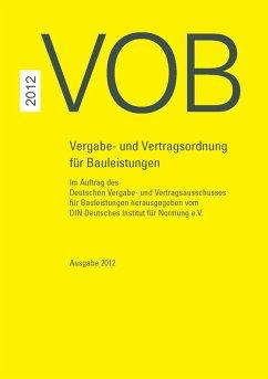 VOB 2012 Gesamtausgabe (eBook, PDF)