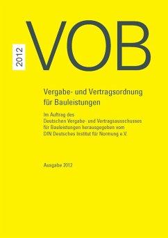 Paket VOB Gesamtausgabe 2012 + VOB Ergänzungsband 2015 (eBook, PDF)