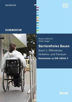 Barrierefreies Bauen (eBook, PDF) - Sieger, Volker; Rebstock, Markus