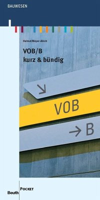 VOB/B (eBook, PDF) - Meyer-Abich, Helmut