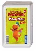 KOSMOS 741686 - Der kleine Drache Kokosnuss Mau-Mau Kids, Kartenspiel, Familienspiel