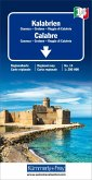 Kümmerly+Frey Karte Kalabrien / Calabre Regionalkarte