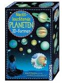 Nachtleuchtende Planeten 3D Formen