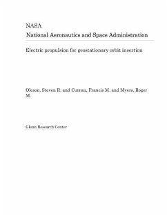 Electric Propulsion for Geostationary Orbit Insertion - Nasa, National Aeronautics and Space Adm