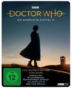 Doctor Who - Staffel 11 Limited Steelbook - Whittaker,Jodie/Walsh,Bradley/Cole,Tosin/+