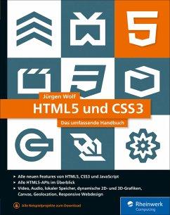 HTML5 und CSS3 (eBook, ePUB) - Wolf, Jürgen