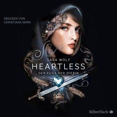 Der Kuss der Diebin / Heartless Bd.1 (MP3-Download) - Wolf, Sara