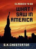 What I Saw in America (eBook, ePUB)