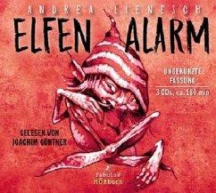 Elfenalarm, 3 Audio-CDs - Lienesch, Andrea