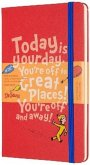 Moleskine 18 Month Dr Seuss Limited Edition Large Weekly Notebook Planner 2020 - Red