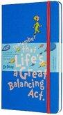 Moleskine 18 Monate Wochen Notizkalender - Dr. Seuss 2019/2020 Large/A5, 1 Wo = 1 Seite, Liniert, Fester Einband, Blau