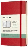 Moleskine 12-Month Weekly Notebook Planner 2020 - Scarlet Red
