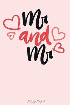 MR & MR Hochzeits-Notizbuch: 120 Gepunktete Seiten in A5 ALS Geschenk, Für Notizen Usw. Für Ein Gleichgeschlechtliches Paar - Gefuhl, Bucher Mit