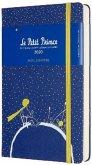 Moleskine 12 Monate Tageskalender - Der Kleine Prinz 2020 Large/A5, 1 Tag = 1 Seite, Fester Einband, Planet