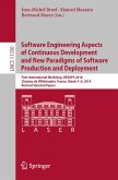 Software Engineering Aspects of Continuous Development and New Paradigms of Software Production and Deployment (eBook, PDF)