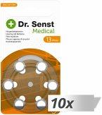 10x6 Dr. Senst Medical Hörgeräte Batterien Typ 13 70511