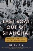Last Boat Out of Shanghai (eBook, ePUB)