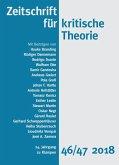 Zeitschrift für kritische Theorie (eBook, ePUB)