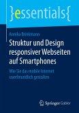 Struktur und Design responsiver Webseiten auf Smartphones