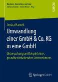 Umwandlung einer GmbH & Co. KG in eine GmbH