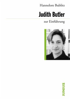 Judith Butler zur Einführung (eBook, ePUB) - Bublitz, Hannelore