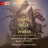 Die Gabel, die Hexe und der Wurm. Geschichten aus Alagaësia / Eragon-Saga Bd.1 (MP3-Download)
