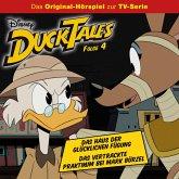 Disney/DuckTales - Folge 4: Das Haus der Glücklichen Fügung / Das vertrackte Praktikum bei Mark Bürzel (MP3-Download)